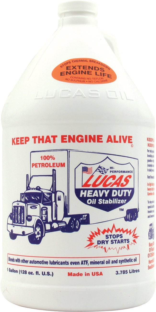 Lucas Heavy Duty Oil Stabilizer 1 Gallon (Case of 4)
