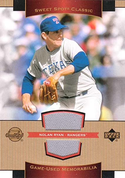 separation shoes 82f66 c5c8a Amazon.com: Nolan Ryan 2003 Upper Deck Sweet Spot Classics ...