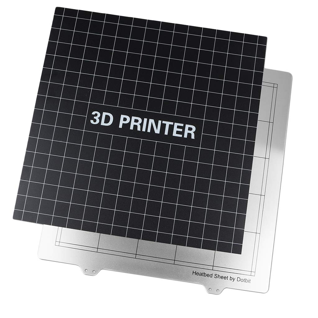 Black 220*220MM Heated bed stick  Print Bed Tape Print Sticker  for 3D Printer