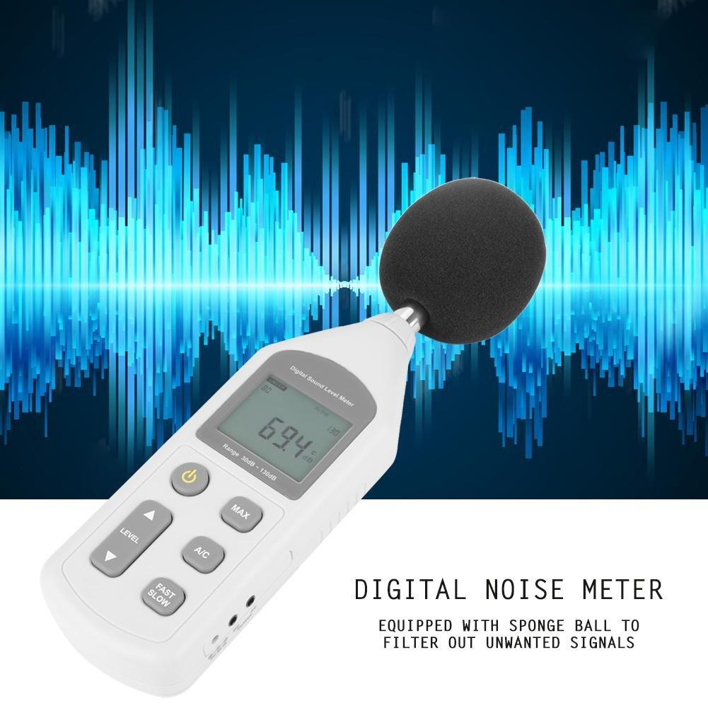 Akozon GM1357 Handy Mini Digital Noise Meter Sound Level Meter Noise Measuring Instrument by Akozon (Image #5)