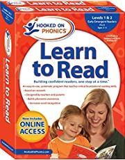 Hooked on Phonics Learn to Read - Levels 1&2 Complete: Early Emergent Readers (Pre-K | Ages 3-4) (Volume 1)