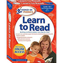 Hooked on Phonics Learn to Read - Levels 1&2 Complete: Early Emergent Readers (Pre-K | Ages 3-4) (Learn to Read Complete Sets)