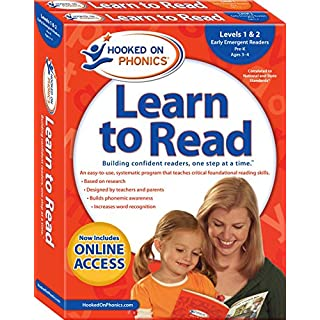 Hooked on Phonics Learn to Read - Levels 1&2 Complete: Early Emergent Readers (Pre-K   Ages 3-4) (1) (Learn to Read Complete Sets)