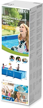 Intex 28273NP Small Frame - Piscina desmontable tubular, 450 x 220 x 84 cm, 7.127 litros: Amazon.es: Jardín
