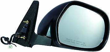 u-Box Jeep TJ Factory Door Mirror Mounting Brackets in Matte Black Jeep Wrangler TJ 97-06