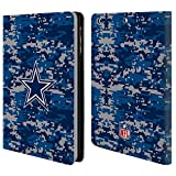 Official NFL Digital Camouflage 2018/19 Dallas Cowboys Logo Leather Book Wallet Case Cover for iPad Mini 1 / Mini 2 / Mini 3