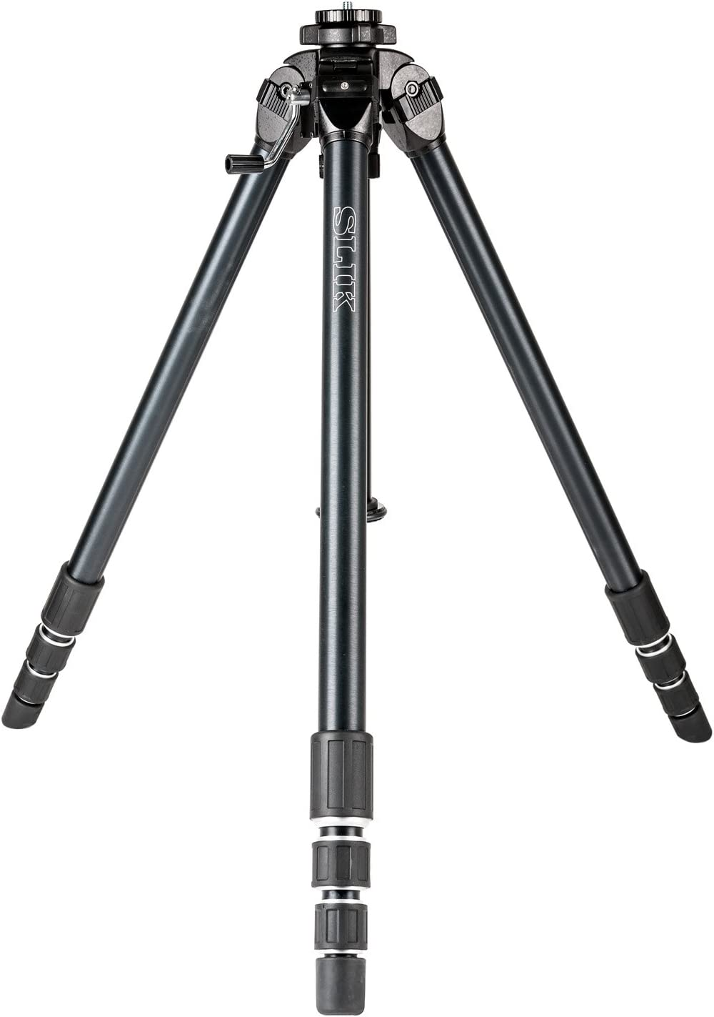SLIK Professional 4 Tripod Legs - Supports 22 lb, for Mirrorless/DSLR Sony Nikon Canon Fuji Cameras and More - Black (619-975)