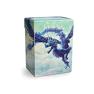 Arcane Tinmen APS art31633 Dragon Shield: Deck Shell Clear Blue Edición Limitada: Juguetes y juegos