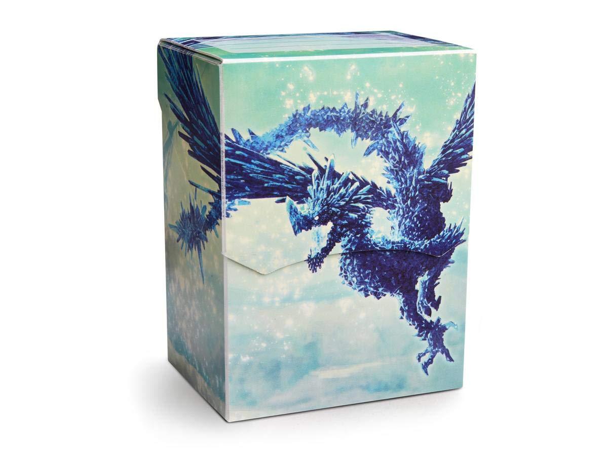 Arcane Tinmen ApS ART31633 Dragon Shield: Deck Shell Clear Blue limitiert, Mehrfarbig Pegasus Spiele