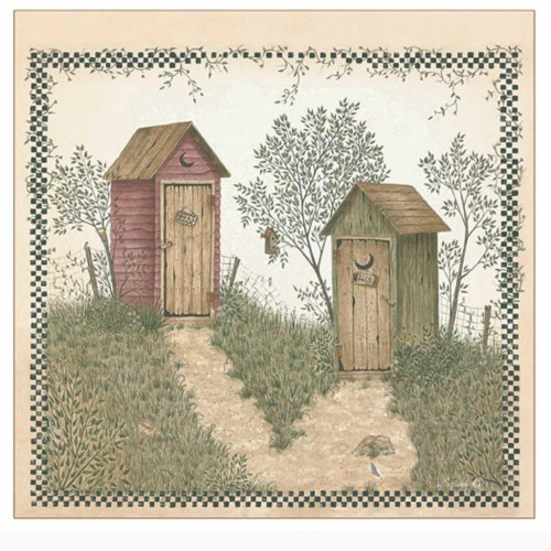 outhouse shower curtain - 8