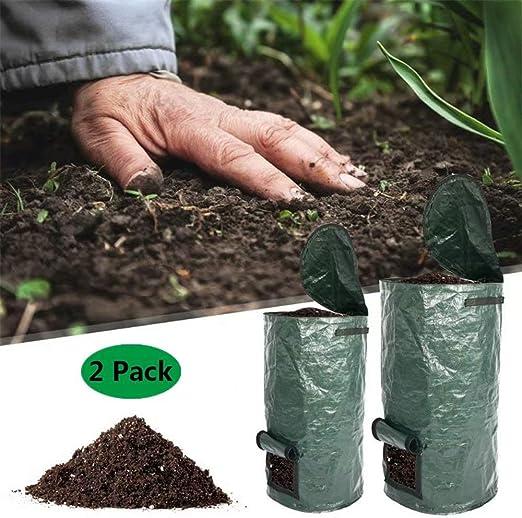 Danning Contenedor de Compost orgánico para jardín ...