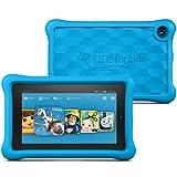 "Fire Kids Edition Tablet, 7"" Display, Wi-Fi, 16 GB, Blue Kid-Proof Case"