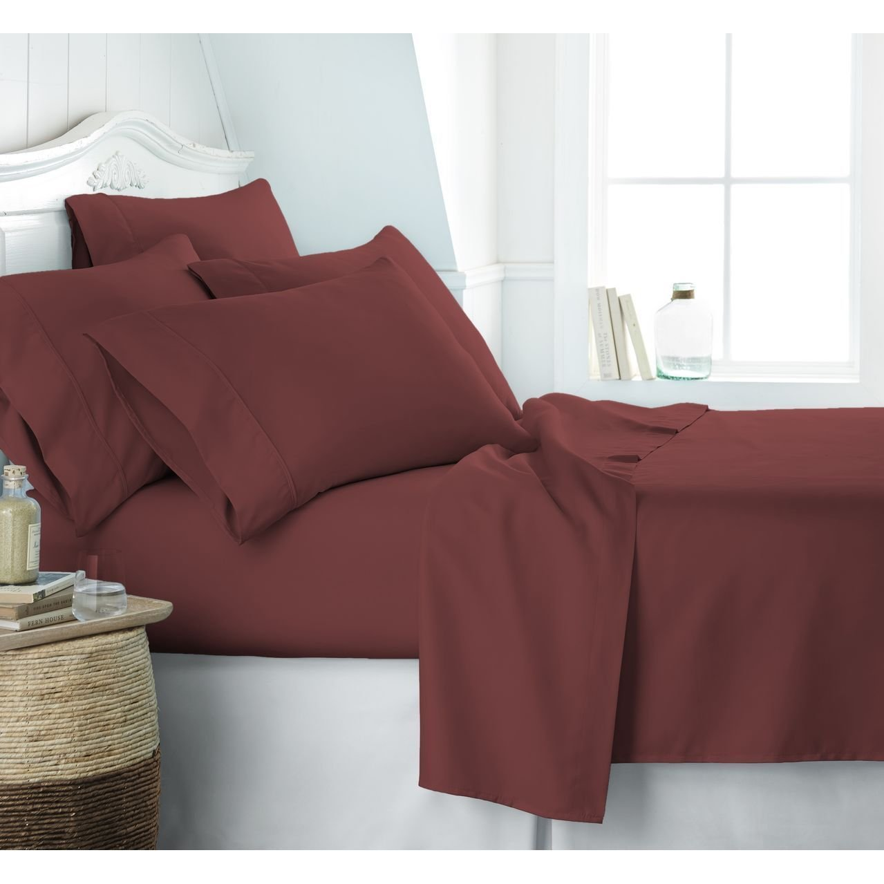 Egyptian Luxury 1800 Hotel Collection Bed Sheet Set
