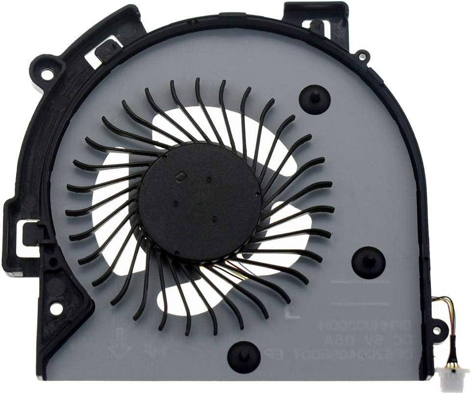DREZUR CPU Cooling Fan Compatible for HP Envy 15-AR M6-AP M6-AQ TPN-W119 W120 M6-AQ003dx M6-AQ005dx M6-AQ004DX M6-AQ103DX M6-AQ105DX M6-AQ25DX M6-AR004DX Series Laptop 856277-001 856306-001