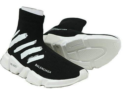 Balenciaga Scapra Speed Trainer Black Hombre Zapatos: Amazon.es: Zapatos y complementos