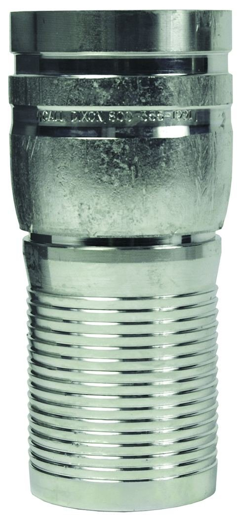 2 ID Schedule 80 Plated Carbon Steel 2 ID Dixon STV25CS Combo Nipple with Grooved End