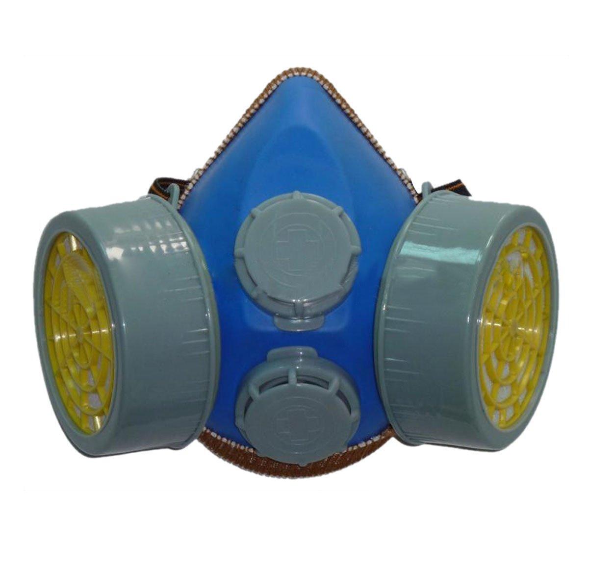 Smarstar Respirador Máscara Industrial de Gas Química Anti polvo de cartucho doble