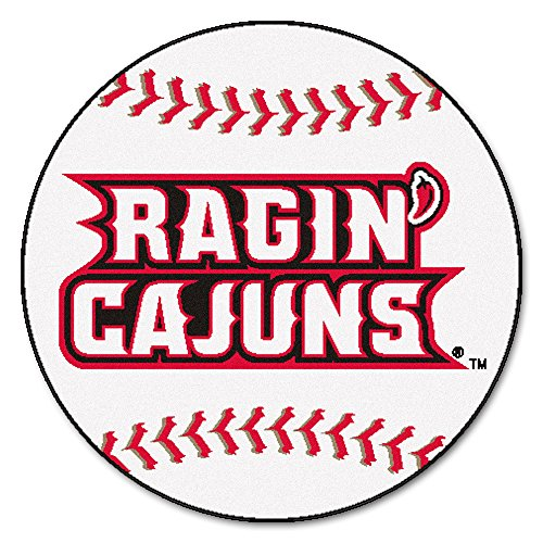 (Fan Mats Louisiana-Lafayette University Baseball Area Rug)
