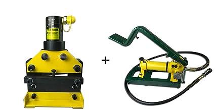 cgoldenwall cwc-150 hidráulico cortador de embarrado Bus Bar para máquina de cortar herramientas de