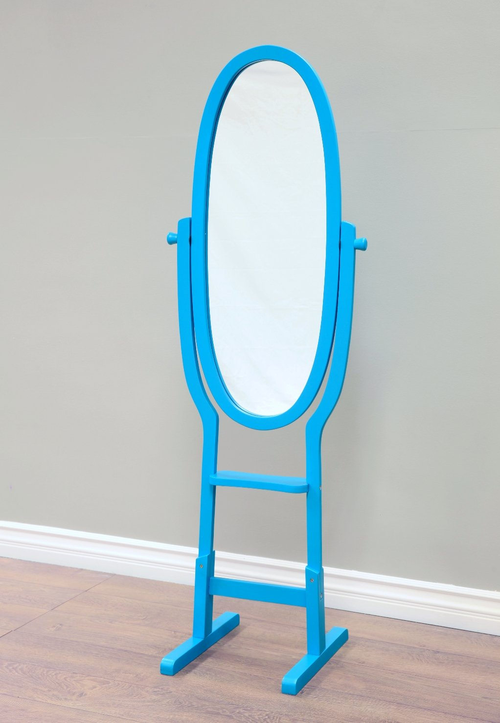 Frenchi Home Furnishing Kids Mirror Stand Blue mega home MR282-BU