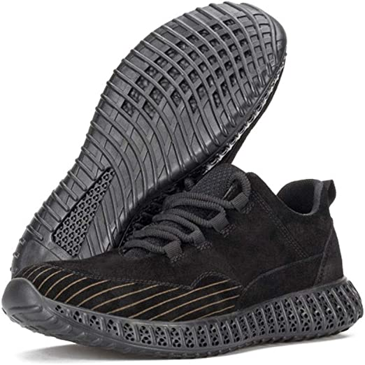 Trainer Sneakers (Color : Black, Size