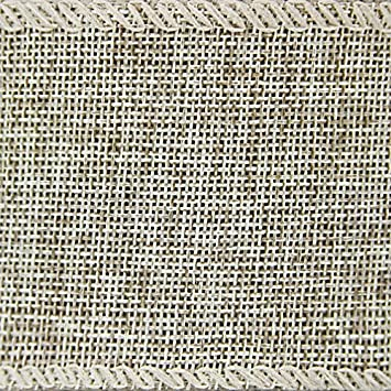 Natural Craft Faux Burlap Jute Wired Ribbon 2.5 Inches by 25 Yards