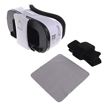 eff3c947d36 Niceskin FiiT VR 2S Virtual Reality Headset 3D Glasses VR Box for  Smartphone 4.0-6.5 Inch  Amazon.co.uk  Hi-Fi   Speakers