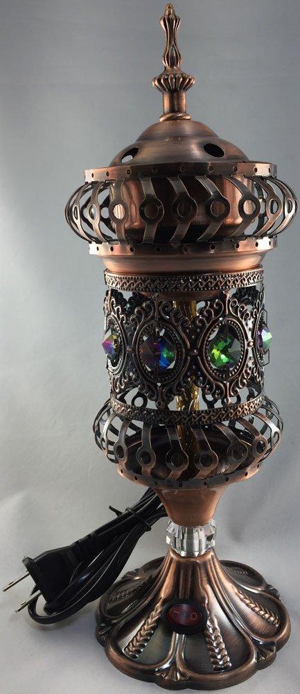 激安特価品 Intricate carousel 新作からSALEアイテム等お得な商品満載 Electric Mabkhara Large ブラウン コッパー L B07469768H