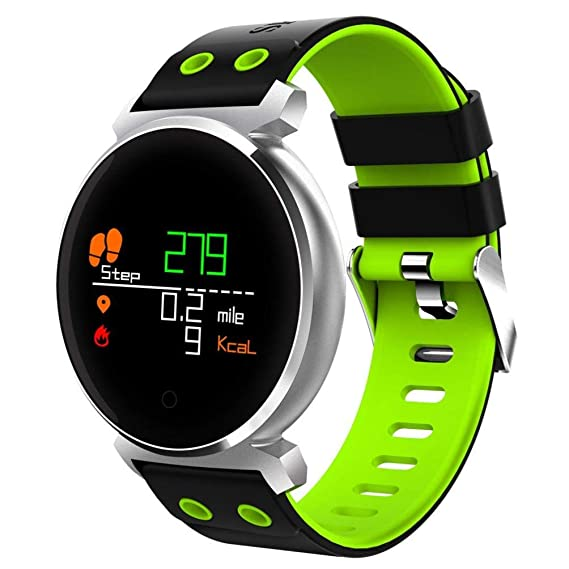 Amazon.com: IP68 Waterproof Watch Intelligent Bluetooth ...