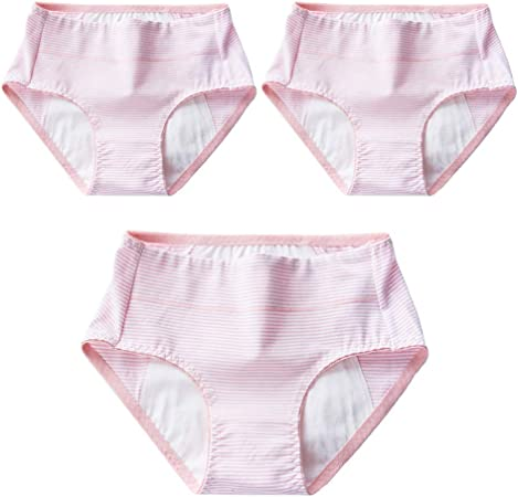April Story Mujer Bragas Algodon Período Menstrual 3 Unids a Prueba de Fugas Cintura Media Fisiológico Calzoncillos Transpirables,XL: Amazon.es: Hogar