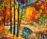 ***SUMMER SALE*** TRIP TO THE FUTURE is a One-of-a-Kind, ORIGINAL OIL PAINTING ON CANVAS by Leonid AFREMOV Picture