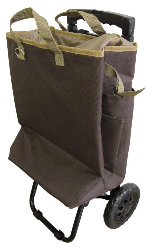 tote carry(トートキャリー) 保冷機能付きショッピングカート ブラウン 5835 B01M0GO42Z ブラウン ブラウン