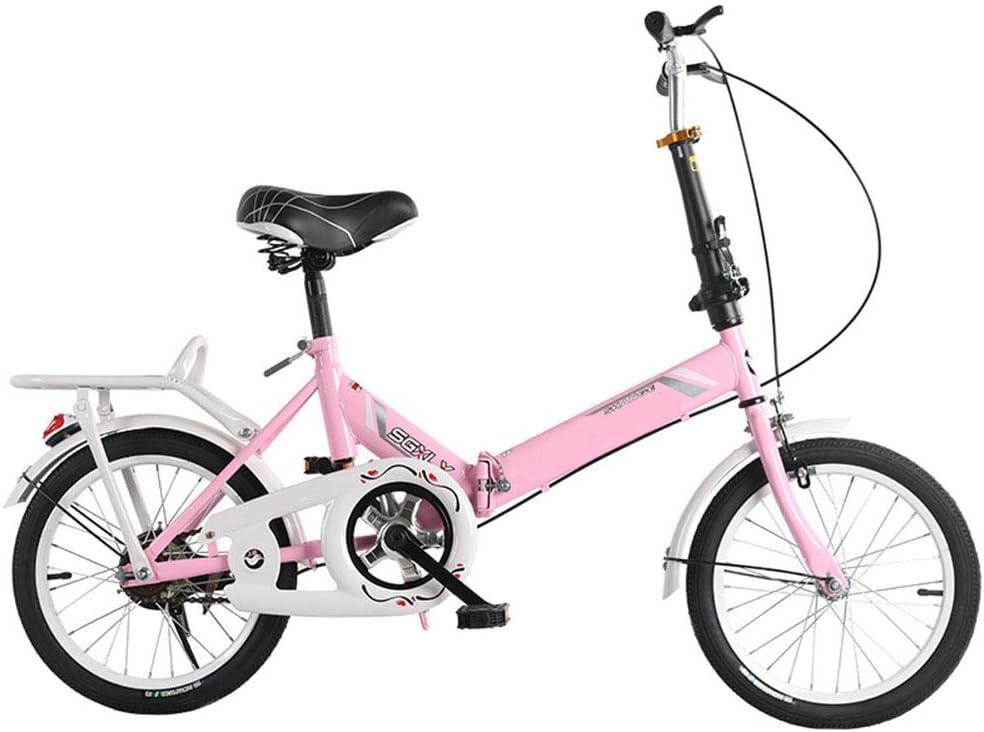 SYCHONG Bicicleta Plegable De 16 Pulgadas Y Trabajadoras para ...