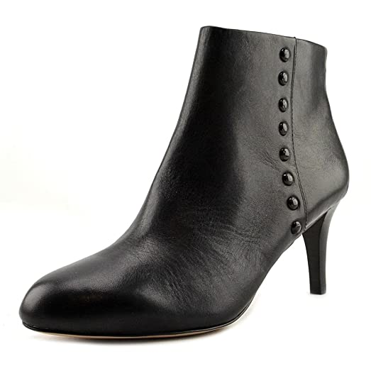 Coach Hickory Soft Shine Calf Women US 11 Black Ankle Boot