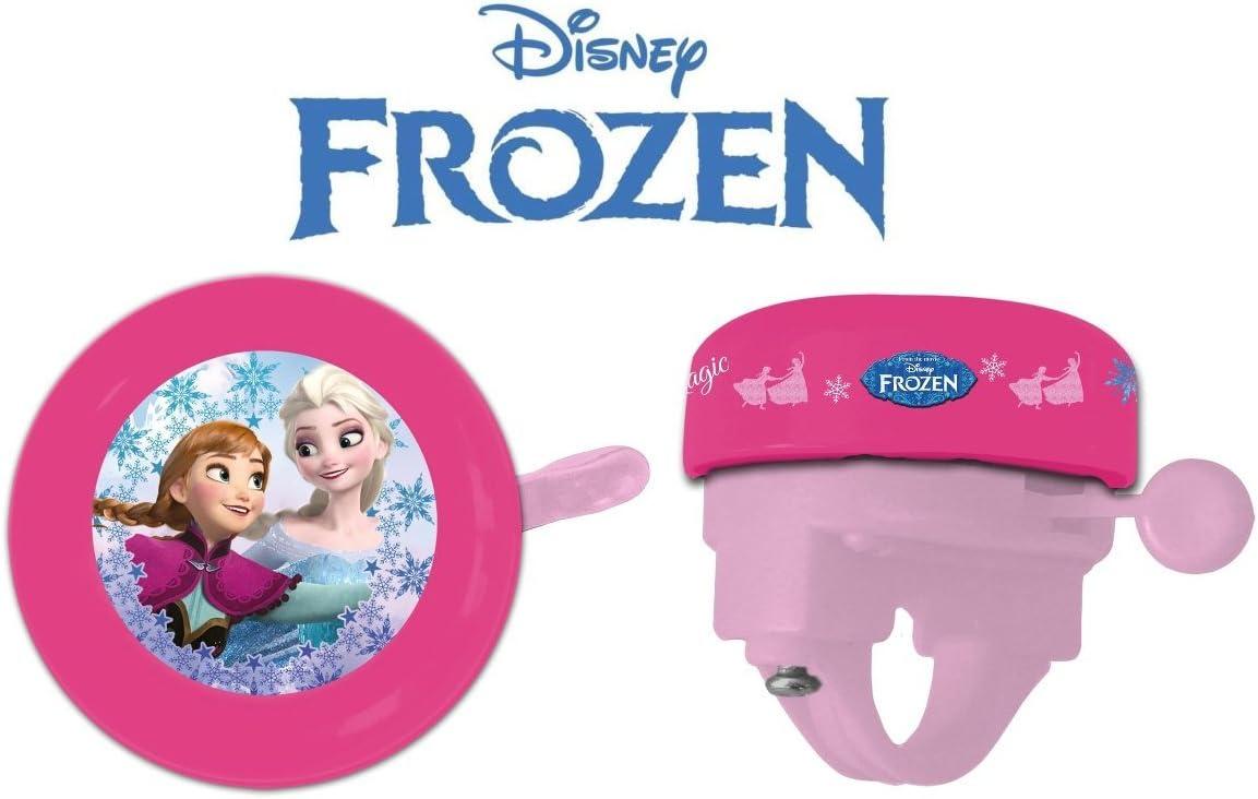 Timbre Disney Frozen para bicicleta niña – Casquillo al manillar: Amazon.es: Deportes y aire libre
