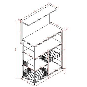 XQY Mesa de Pared, Mesa de diseño Creativo, estantería, Cocina de ...