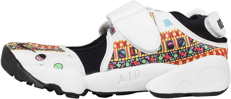vacunación enlace Tiranía  Nike Air Rift Liberty QS Women's Trainer (UK7.5 EUR42 US10) White Black:  Amazon.co.uk: Shoes & Bags