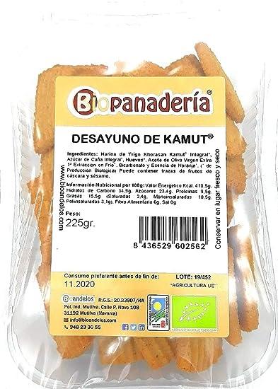 Bioandelos Biopanaderia Galletas Ecológicas de Kamut ...