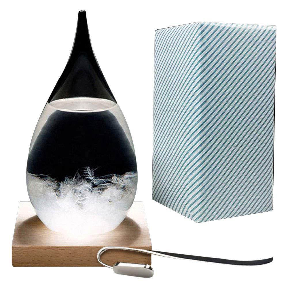 Creative Stylish Desktop Droplet storm Glass Crafts Weather Storm Forecast Predictor Bottle Barometer Generic