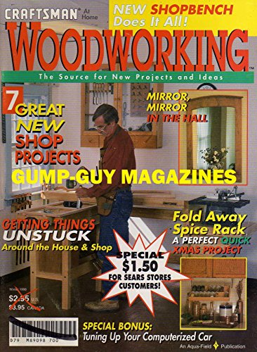 Chest Hutch Cherry - WOODWORKING Magazine Winter 1996 HOME CRAFTSMAN SHOP BENCH Hand Tools CHRISTMAS PROJECT Wood MIRRORS Fold Away Spice Rack SAW FENCE DELIVERS PRO RESULTS Contemporary Cherry Bed WEDDING GIFT STOOL