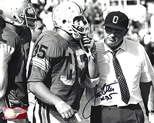 Jim Otis Autographed Ohio State Buckeyes 8x10 Photograph - Certified Authentic - Autographed Photos Ohio Sports Group