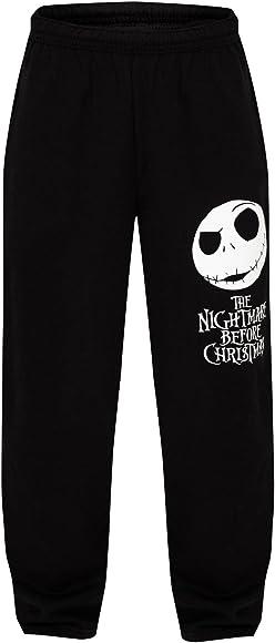 The Nightmare Before Christmas - Pantalón deportivo - para hombre negro Small: Amazon.es: Ropa y accesorios