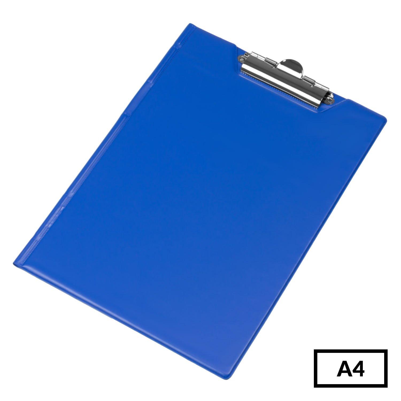 Schreibmappe Klemmbrett Klemmmappe rot Schreibbrett A4 Metallhalter