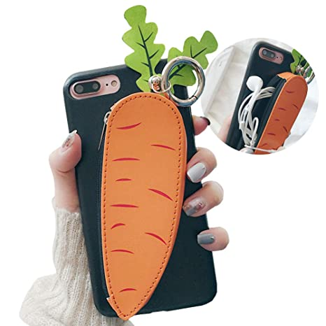 7d939b5c9322 Amazon.com: SGVAHY Wallet Phone Case for iPhone XR, Cute Fun Zipper ...