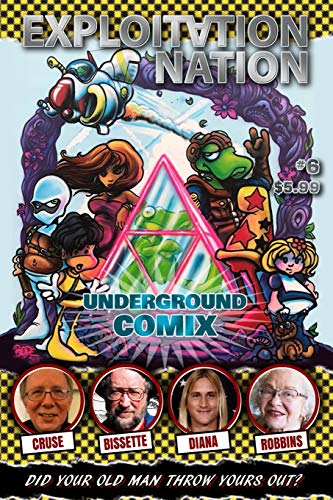 Pdf Graphic Novels Exploitation Nation #6: UNDERGROUND COMIX: Cover A: BODE