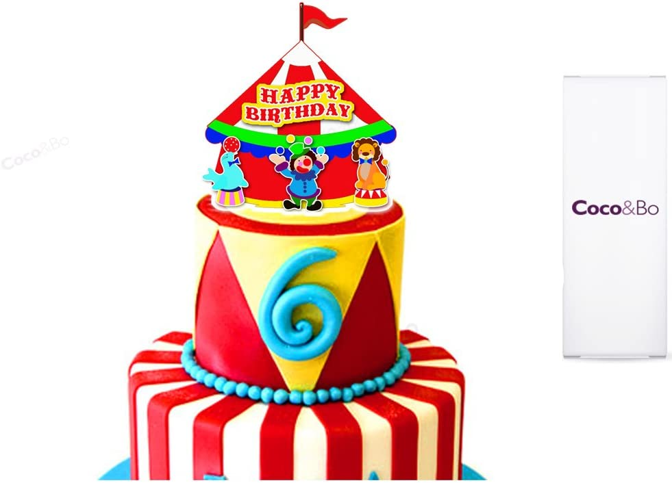 Strange 1 X Cocobo Marvellous Circus Happy Birthday Cake Topper Roll Personalised Birthday Cards Bromeletsinfo