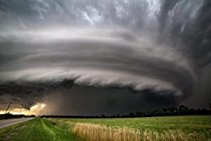 Burwell Nebraska Supercell Thunderstorms Photo Photograph Cool Wall Decor Art Print Poster 36x24