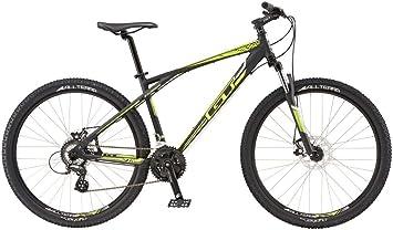 GTT 27.5 Mountain Bike MTB GT Aggressor Comp Black/Neon Yellow Modelo 2016, color, tamaño 35.5 cm, tamaño de cuadro 35.00 centimeters, tamaño de rueda 27.00 inches: Amazon.es: Deportes y aire libre