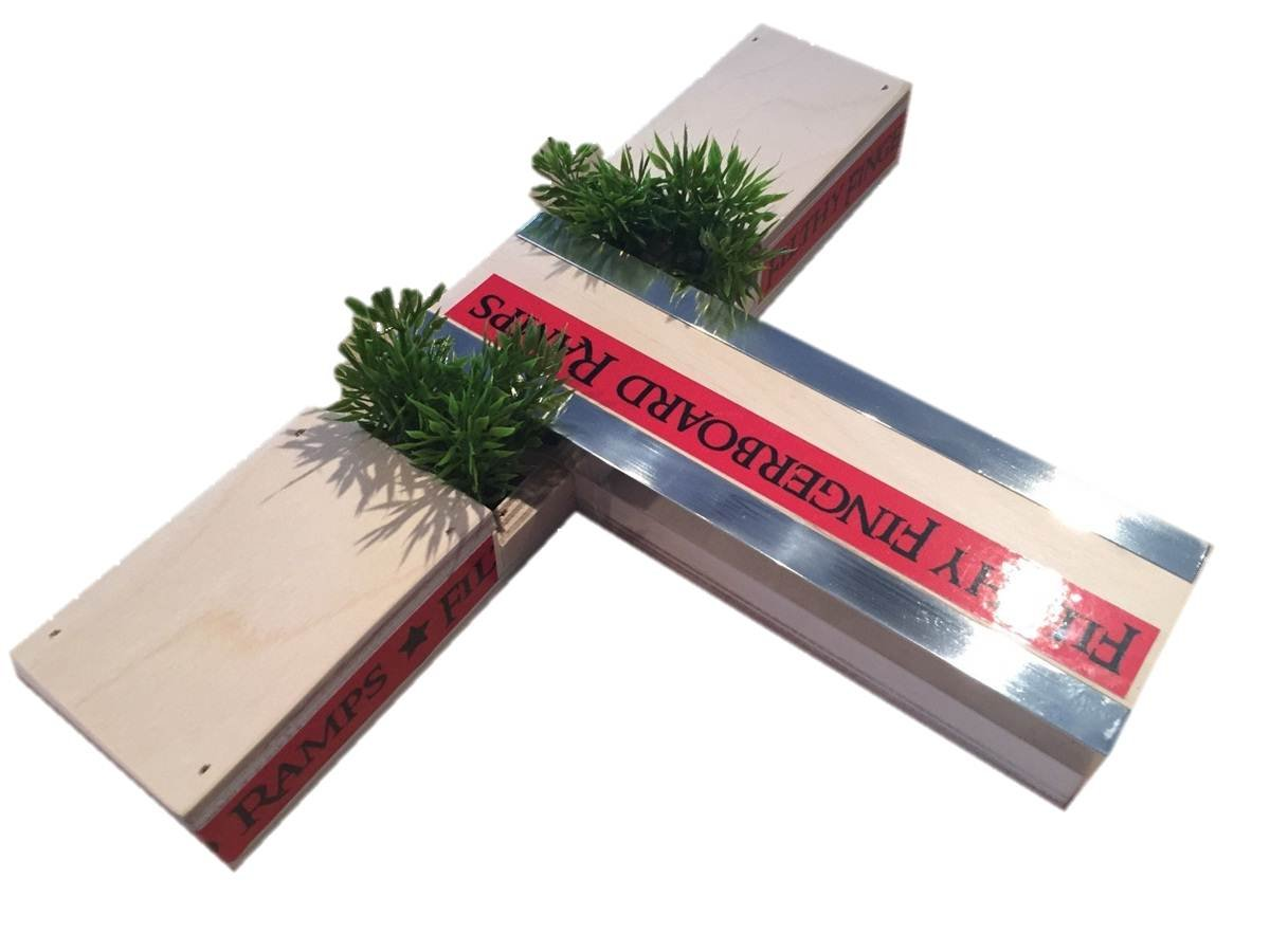 Filthy Fingerboard Ramps Fat Fingerboard Planter Box by Filthy Fingerboard Ramps