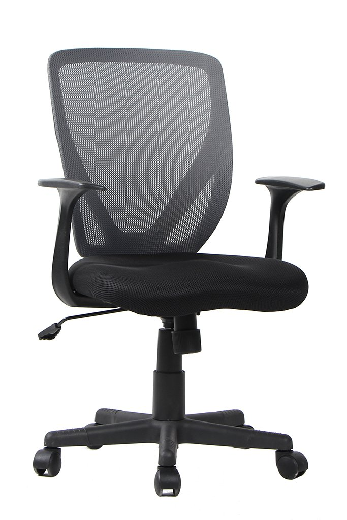 Bonum Office Chair with Mid back, Black Mesh Chair